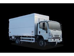 ISUZU ELF 7.5 4x4 Промтоварный фургон с трехсторонней загрузкой